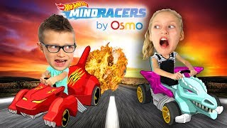 Download SIS vs BRO - Osmo Hot Wheels™ MindRacers Challenge! Video