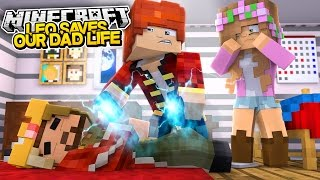 Download LEO SAVES DADS LIFE! Minecraft Royal Family | w/LittleKellyandCarly & Raven Video