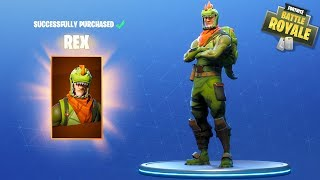 Download HIKEPLAYS: Fortnite Battle Royale - NEW T REX SKIN!!! Video