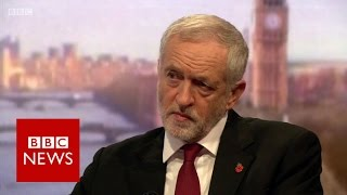 Download Jeremy Corbyn says Trump should 'grow up' - BBC News Video