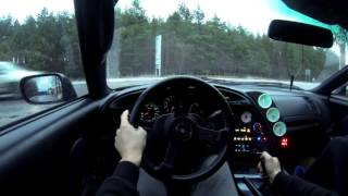 Download 1st Person city driving | Toyota Supra 2JZ GTE MKIV (GoPro) Video