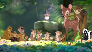 Download Bambi and Faline kiss Video