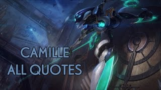 Download CAMILLE - ALL QUOTES (ENGLISH) (ON SCREEN) Video