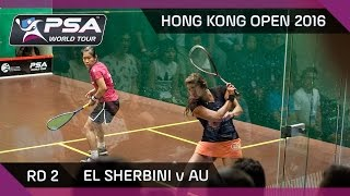 Download Squash: Hong Kong Open 2016 - El Sherbini v Au - Rd 2 Highlights Video