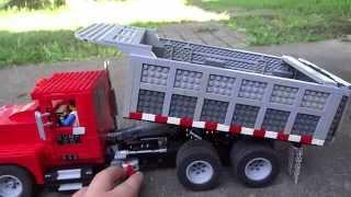 Download LEGO Power Functions Dump Truck and Conveyor Belt Video