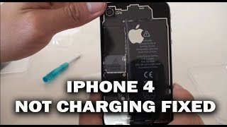 Download IPHONE 4 NOT CHARGING FIX REPAIR Video