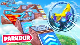 Download Impossible *New* Fortnite Baller Obstacle Course! (Hamster Ball Parkour Challenge) Video
