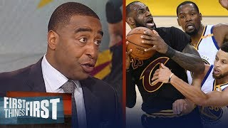 Download Cris Carter's reason KD's Warriors will sweep LeBron's Cavs in NBA Finals | NBA | FIRST THINGS FIRST Video