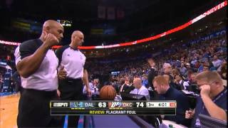 Download Vince Carter elbows Steven Adams. Gets ejected. Adams: UNFAZED! Video