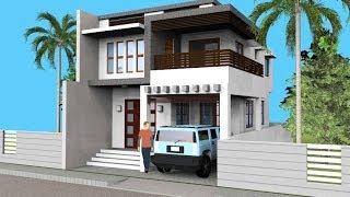 Download Small Modern 2 Level House with Interior Walkthrough Video