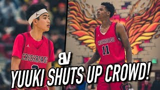 Download 5'5″ Yuuki Okubo SHUTS UP Crowd MOCKING His Height! Shareef BACK FROM INJURY + DJ Houston BUCKETS Video