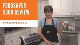 Download Review of FoodSaver 5300 Vacuum Machine | FoodSaver® FM5330 Food Preservation System Video