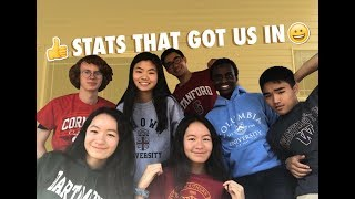 Download STATS THAT GOT US INTO IVIES USC STANFORD UW Video