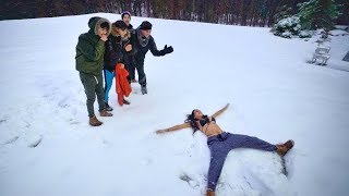 Download CRAZY SNOW DARES! Video