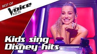 Download TOP 10 | Kids sing BEST DISNEY SONGS in The Voice Kids Video