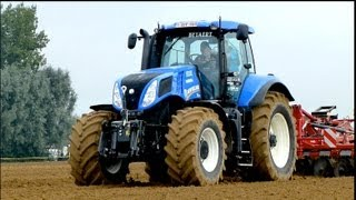Download New Holland T7.270 BP / T8.420 AC and many more at Werktuigendagen 2013 Video