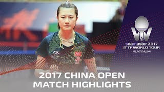Download 2017 China Open | Highlights Ding Ning vs Sun Yingsha (Final) Video