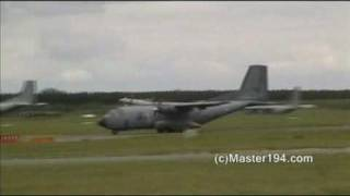 Download C-160 Transall à Orléans Bricy - 2010 Video