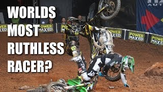 Download The World's Most Ruthless Supercross Racer? *CARNAGE* Video
