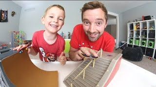 Download Dad & Son Fingerboarding Time! Video