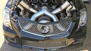 Download FASTEST Cadillac CTSV in the World - 106mm TURBO! Video