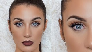 Download My Go-To Eye Makeup Look: Smoked Liner, Bold Lip | Beautifoles Video