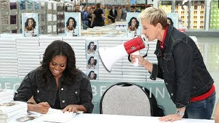 Download Ellen & Michelle Obama Go to Costco Video