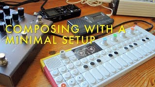 Download Composing With A Minimal Setup | OP1, FX Deformer, Piano, Dictaphone, Timeline Video