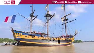 Download Tall-ship gathering in Bordeaux Video