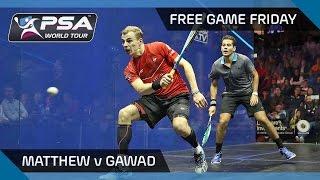 Download Squash: Free Game Friday - Matthew v Gawad - U.S. Open 2016 Video