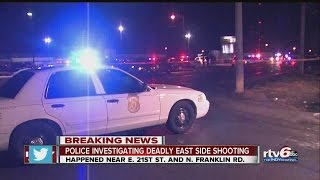 Download PD: Man killed in shooting near east-side bar Video