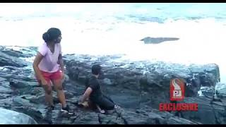 Download TOURIST GETS WASHED AWAY AT SIQUERIM Prudent Media Goa Video