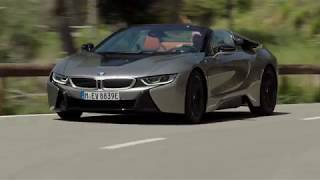 Download BMW i8 Roadster scene7 hd Video