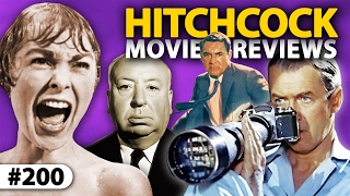 Download Top 7 ALFRED HITCHCOCK Movies Reviewed! ** THE 200th EPISODE! ** Video