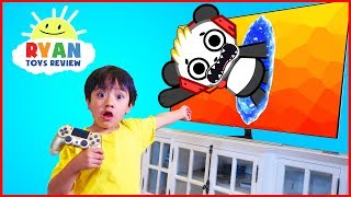 Download Ryan and Combo Panda jumped into the TV + New Gaming Channel VTubers with Ryan ToysReview Video