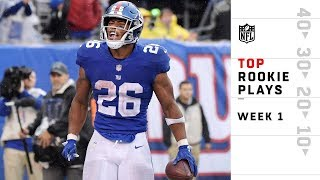 Download Top Rookie Plays from Sunday | NFL Week 1 Highlights Video