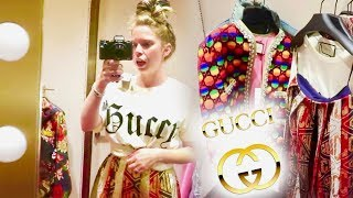 Download INSIDE The GUCCI Store Dressing Room! Video