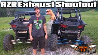 Download Polaris RZR Turbo Exhaust Shootout Single vs. Dual - Extreme UTV Tech Video