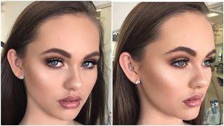 Download Bronzed, Soft & Glowy Makeup Tutorial ♡ Jasmine Hand Video