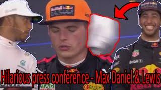 Download Ricciardo throwing towel at Max Verstappen Video