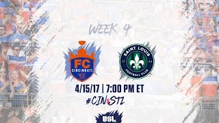Download USL LIVE - FC Cincinnati vs Saint Louis FC 4/15/17 Video