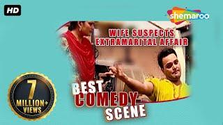 Download Best Comedy Scene - Wife Suspects Extramarital Affair - Family 422 - Gurchet Chittarkar Video