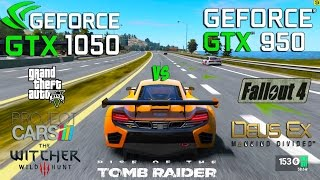 Download GTX 1050 vs GTX 950 Test in 6 Games (i3 6100) Video