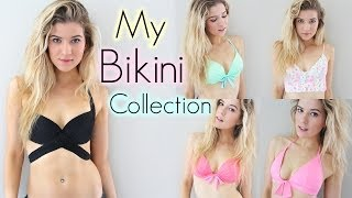 Download Bathing Suit Collection: Trying on Bikinis Video