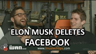 Download Elon Musk DELETES his Facebook - WAN Show Mar.23 2018 Video