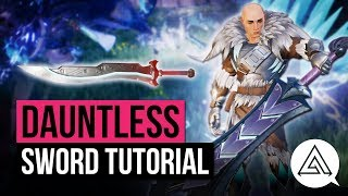 Download Dauntless | Sword Weapon Tutorial Video