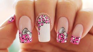 Download Decoración de uñas animal print y moño - animal print & bow nail art Video