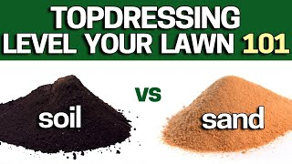 Download How to Topdress & Level Your Lawn Using Sand or TopSoil? Beginners DIY Guide - 2019 Video