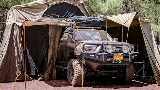 Download Dad Builds INSANE 4Runner for Epic Adventures with Family - Backwoods Overland Full Rig Walk Around Video