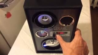 Download MP3 FD-B46 бумбокс магнитола USB Video